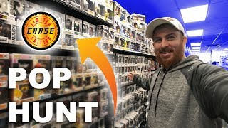 FUNKO POP CHASES FOUND - POP HUNTING