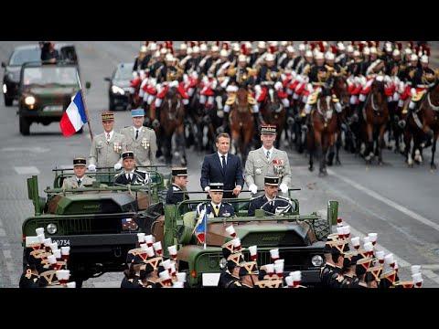 يورو نيوز:فرنسا تحيي عيدها الوطني تحت شعار التعاون العسكري الأوروبي…
