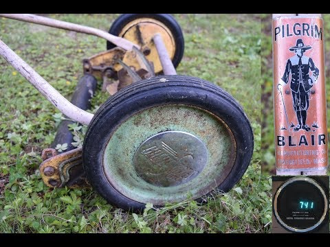 Antique Lawn Mower - Pilgrim by the Blair Manufacturing Company / Great States Springfield MA