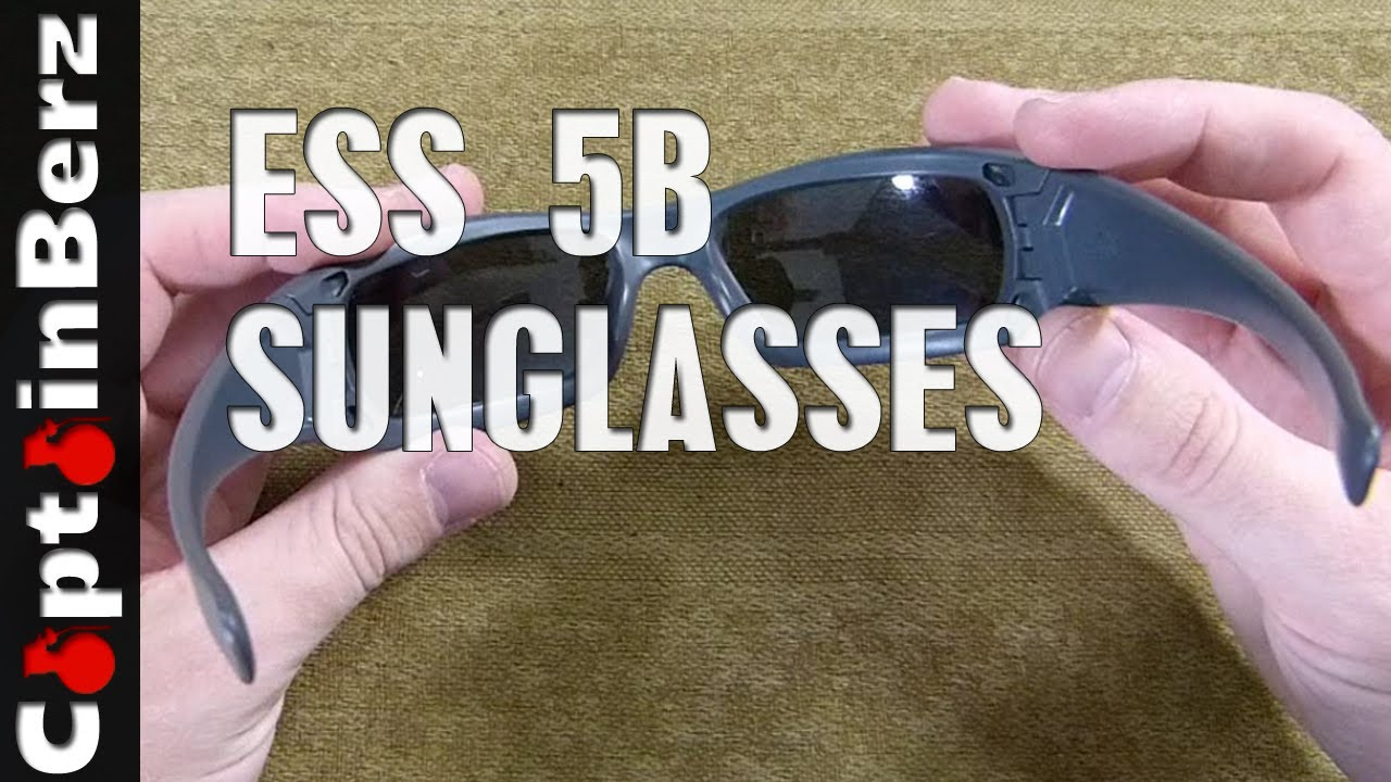 df4266e7218f ESS 5B Ballistic Sunglasses - YouTube