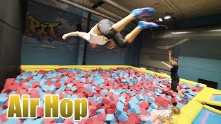 Nico und TuTo machen den Air Hop Trampolin Park unsicher | Nico Lino Vlog
