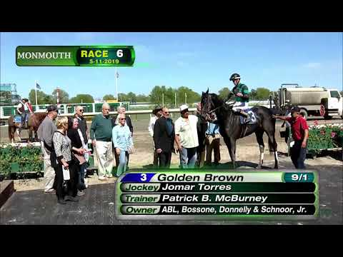 video thumbnail for MONMOUTH PARK 5-11-19 RACE 6