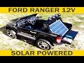 Ford RANGER 12V 10Ah SOLAR POWERED (PL)