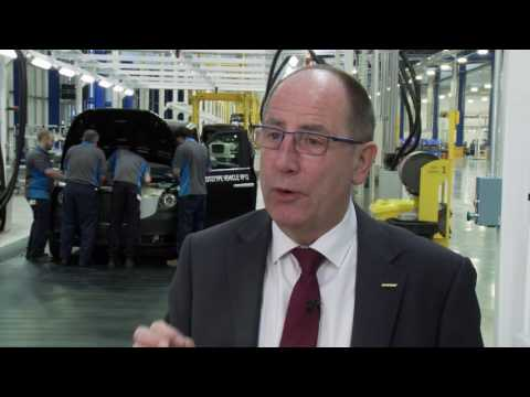 The UK's first dedicated electric vehicle manufacturing facility