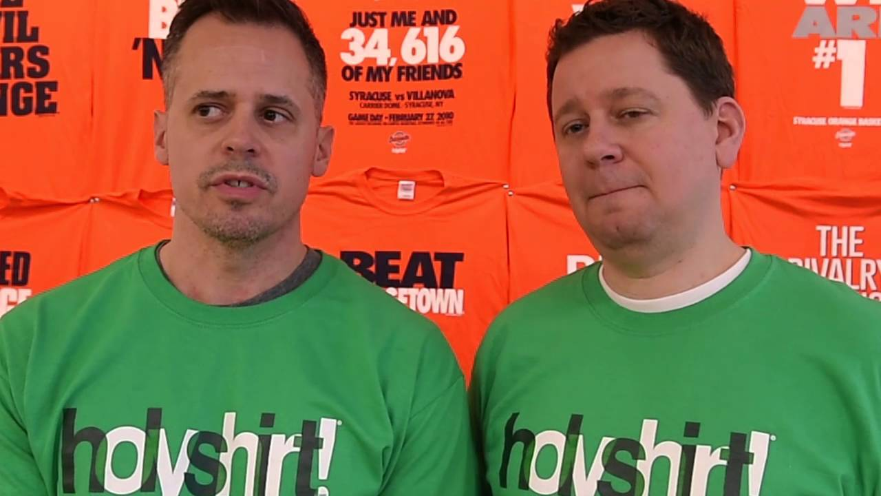 Holyshirt Apparel Company Ready For Next Big Syracuse Basketball Moment