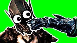 Как победить Эбонитового воина с одного удара кулаком!!! Секрет Скайрима! SKYRIM SPECIAL EDITION