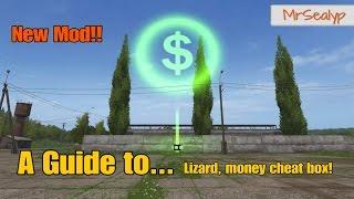 Farming Simulator 17 PS4: A Guide to... Lizard, money cheat box!