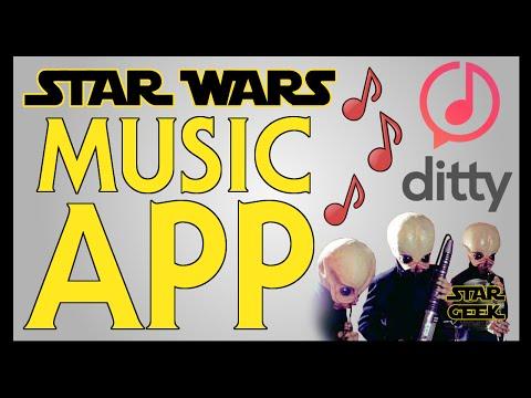 STAR WARS Music App - DITTY - Star Geek