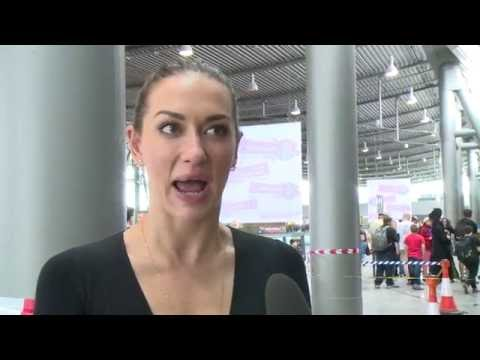 Tasya Teles  THE 100 Comic Con Germany Stuttgart 2016