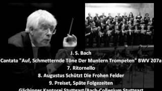 """J. S. Bach - Secular Cantata """"Auf, Schmetternde Töne Der Muntern Trompeten"""" BWV 207a (3/4)"""