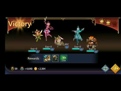 Lords Mobile:Hero Elite Stage 7-12 Using F2P Hero, Mighty Play