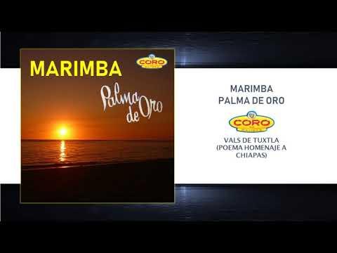"MARIMBA PALMA DE ORO ""VALS DE TUXTLA"""