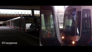 RET Metro Combi SG2/1 ontkoppeld op Kralingse Zoom Rotterdam!!