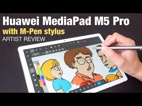 Artist Review: Huawei MediaPad M5 Pro With M-Pen Stylus
