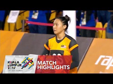 Netball match highlights: Malaysia 🇲🇾 vs Thailand 🇹🇭 | 29th SEA Games 2017