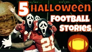 5 of the Most UNSETTLING Football Stories Ever (Halloween Special)