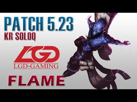 LGD Flame - Ryze Top Lane - KR SoloQ