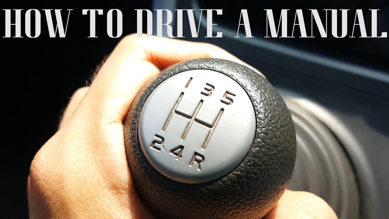 steps on how to drive a stick shift