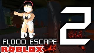 ROBLOX-Playing INSANAS PHASES-(Flood Escape 2)