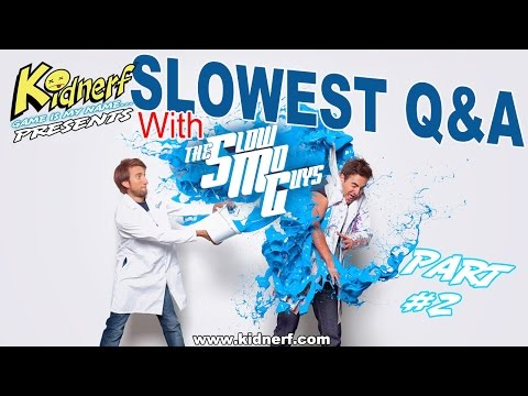 SLOWEST Q&A With (The Slow Mo Guys) Part-2