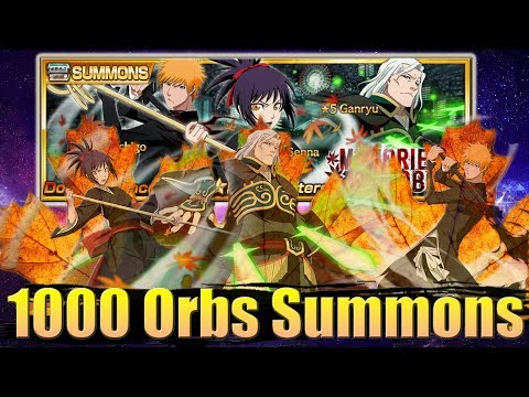 MOVIE 1 CHARACTERS ARE HERE   1000 Orbs Summons   Bleach Brave Souls
