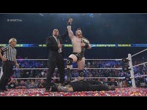 Dean Ambrose vs. Roman Reigns Survivor Series 2015 Full Match Hd