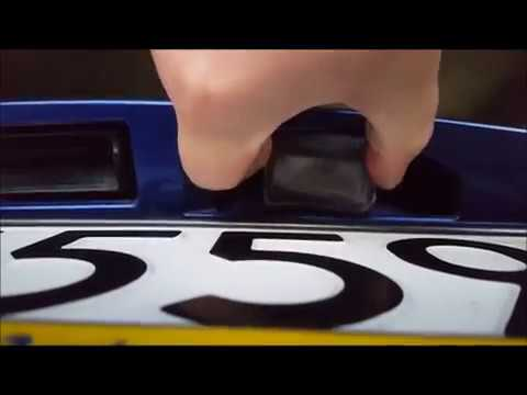 Wymiana Oświetlenia żarówek Tablicy Rejestracyjnej Mazda 6 I Generacji