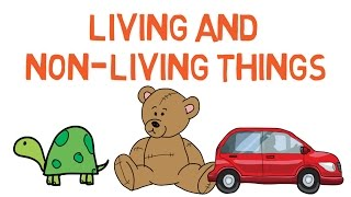 Living and Nonliving things for kids - difference between them - Simply e-learn kids