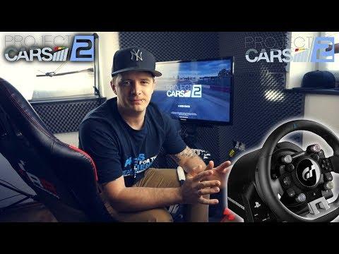 Thrustmaster T-GT Lenkrad Project Cars 2 PS4 PRO Wheel Test / Eindruck / Raceroom RR3055 Rennsitz