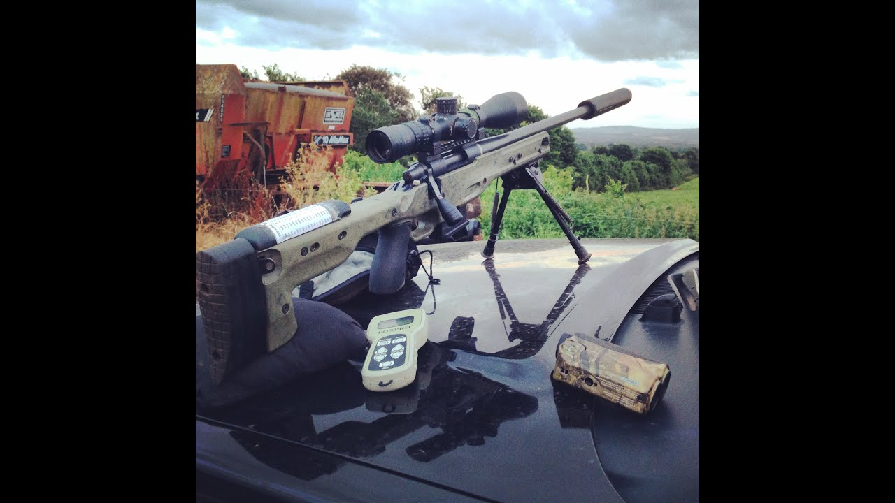 Fox Shooting With The Foxpro Scorpion In Uk 204 Ruger