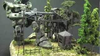 Scale Model Diorama Demo part III: A Finished Product