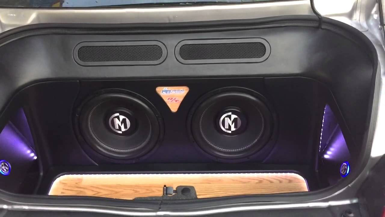 Custom Trunk Build In A 2013 Dodge Challenger Youtube
