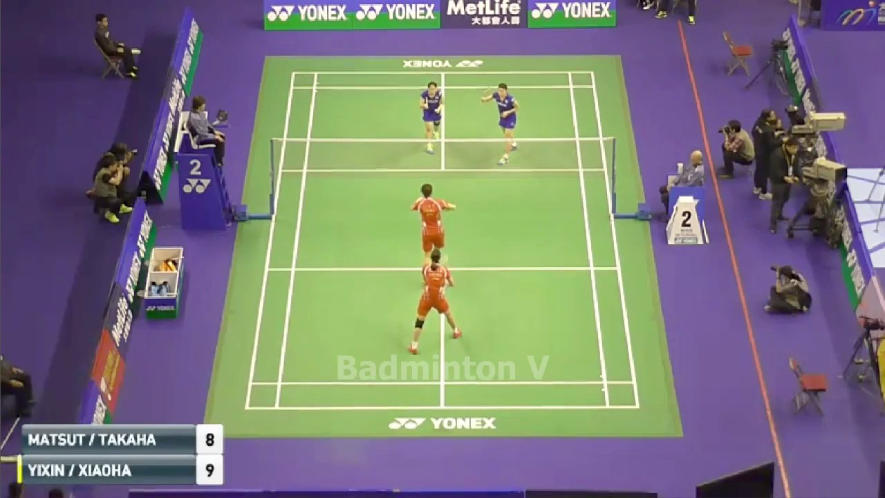 Misaki MATSUTOMO Ayaka TAKAHASHI vs BAO Yixin YU Xiaohan badminton