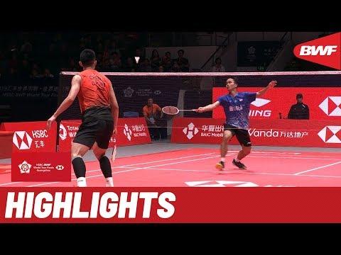 HSBC BWF World Tour Finals 2019 | Semifinals MS Highlights | BWF 2019