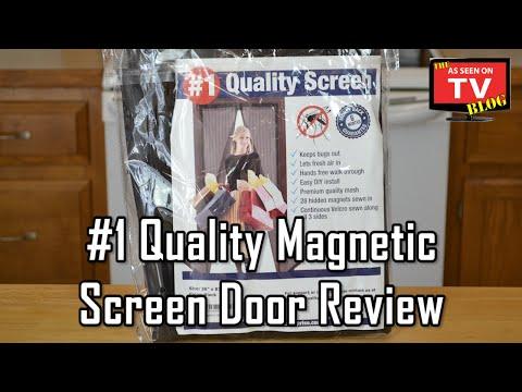 #1 Quality Magnetic Screen Door Review | Not Seen On TV!