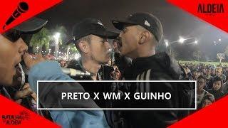 WM x Guinho x Preto   99ª Batalha da Aldeia   Barueri   SP