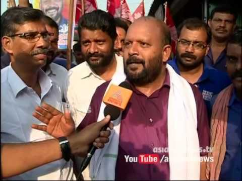 With the candidate VS Sunil Kumar Thrissur Assembly Constituency |സ്ഥാനാര്‍ത്ഥിക്കൊപ്പം 11 May 2016