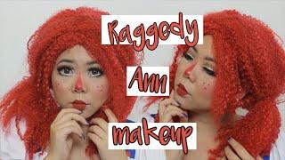 Raggedy Ann/Doll Full Glam Tutorial | MakeupANNimal