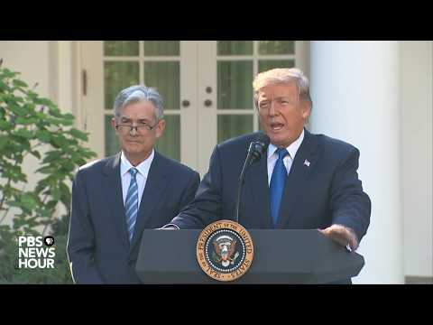 WATCH: Trump announces Federal Reserve Chair nomination