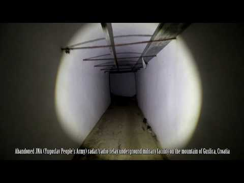 Guslica - ex Yugoslav Army underground military facility, underground Pt.1