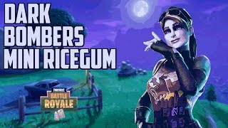 NEW Dark Bomber Skin!! Fortnite Battle Royale Gameplay - Mini Ricegum - TheTruongTeam