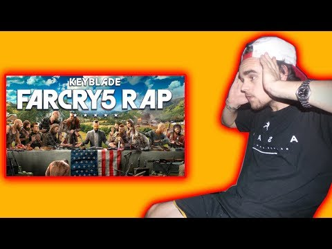 FAR CRY 5 RAP | AMÉN | KEYBLADE |  REACCIÓN | PABLO MELGAZI