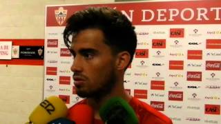 Suso (UD Almería) antes de visitar al Sevilla (Liga BBVA)