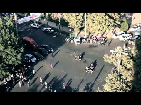 Flashmob in Bishkek