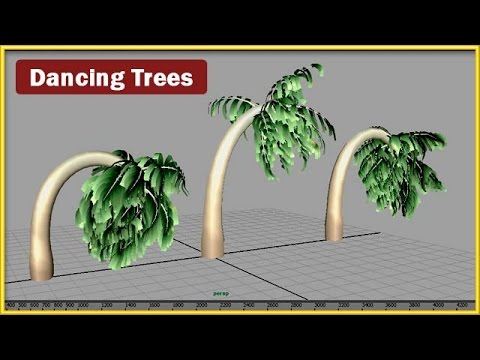 Maya Tutorial: Dancing Trees with Paint Effects