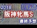 阪神牝馬S 2018 最終予想