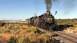 Grand Canyon Railway Doubleheader