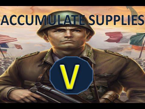 world conqueror 3 Accumulate Supplies V