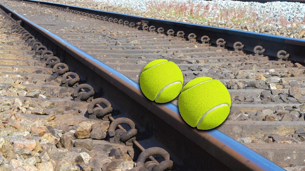 Train Vs Tennis Ball Test