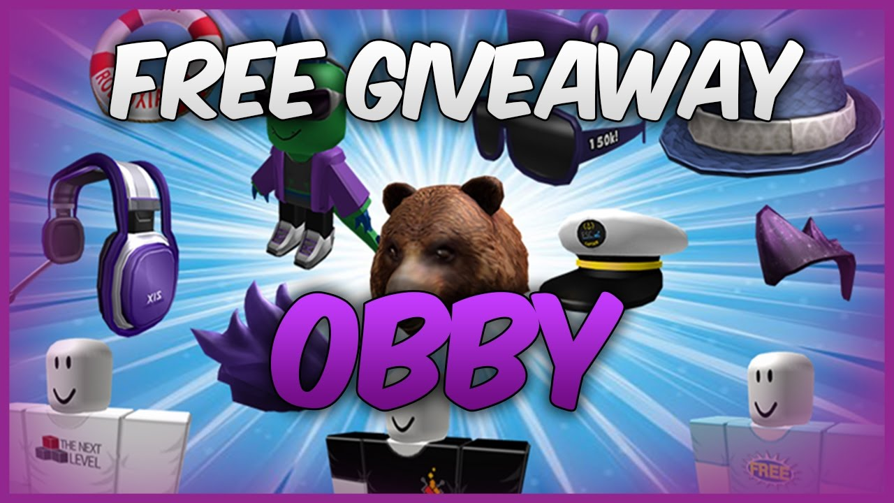 Free Hats! | The Free Prize Giveaway Obby! | ROBLOX ...